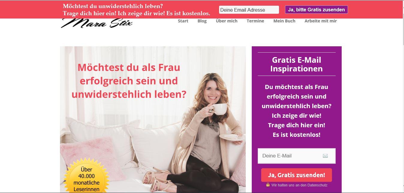 Christin Prizelius, Feel Good Management, Online Institut, Meer