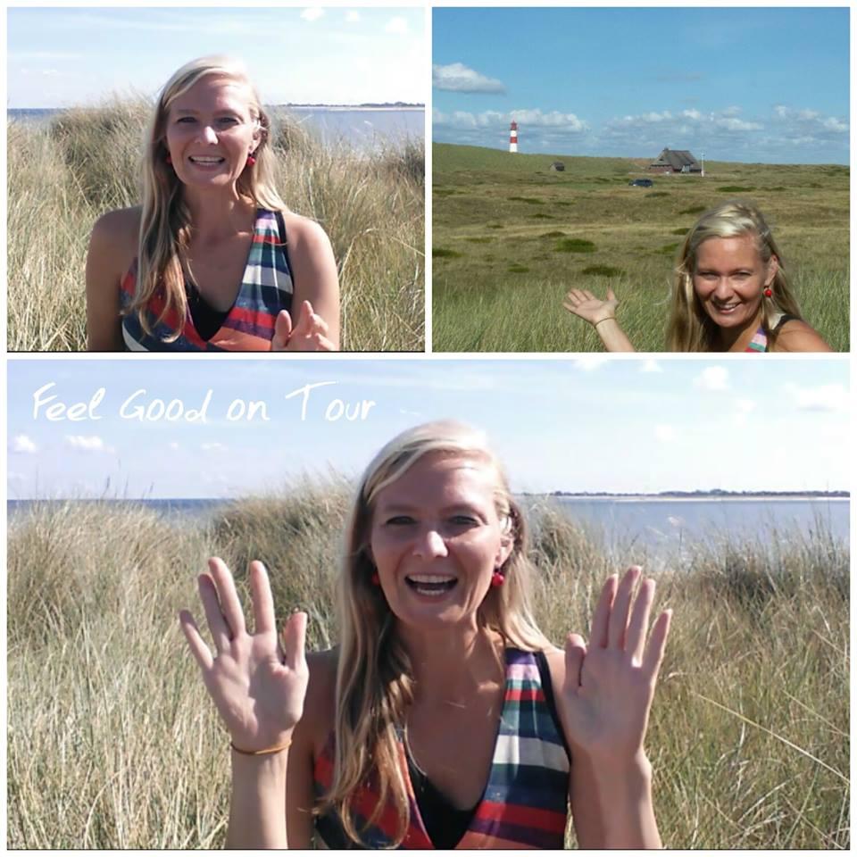 Christin Prizelius, Feel Good on Tour, Feel Good Online Institut, Sylt