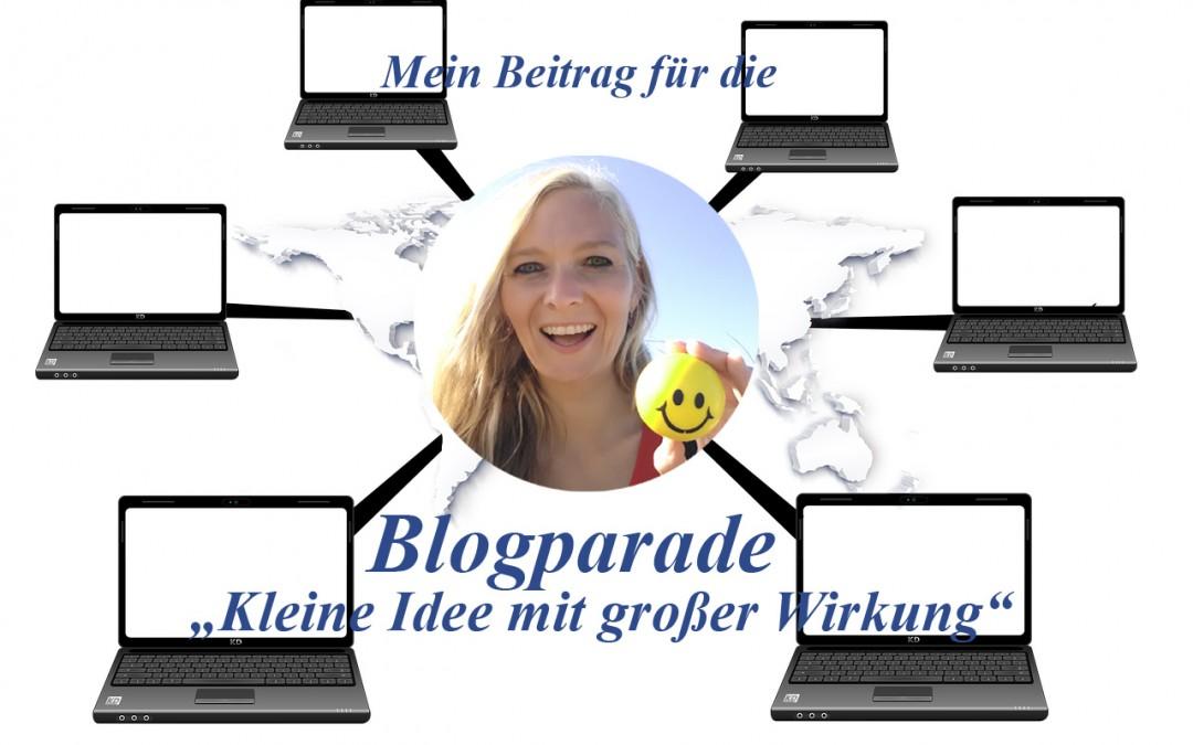 """Blogparade von Dr. Jan Höpker: """"Kleine Idee mit großer Wirkung"""""""