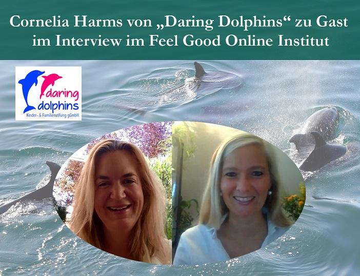 """Cornelia Harms von """"Daring Dolphins"""" zu Gast im Interview"""