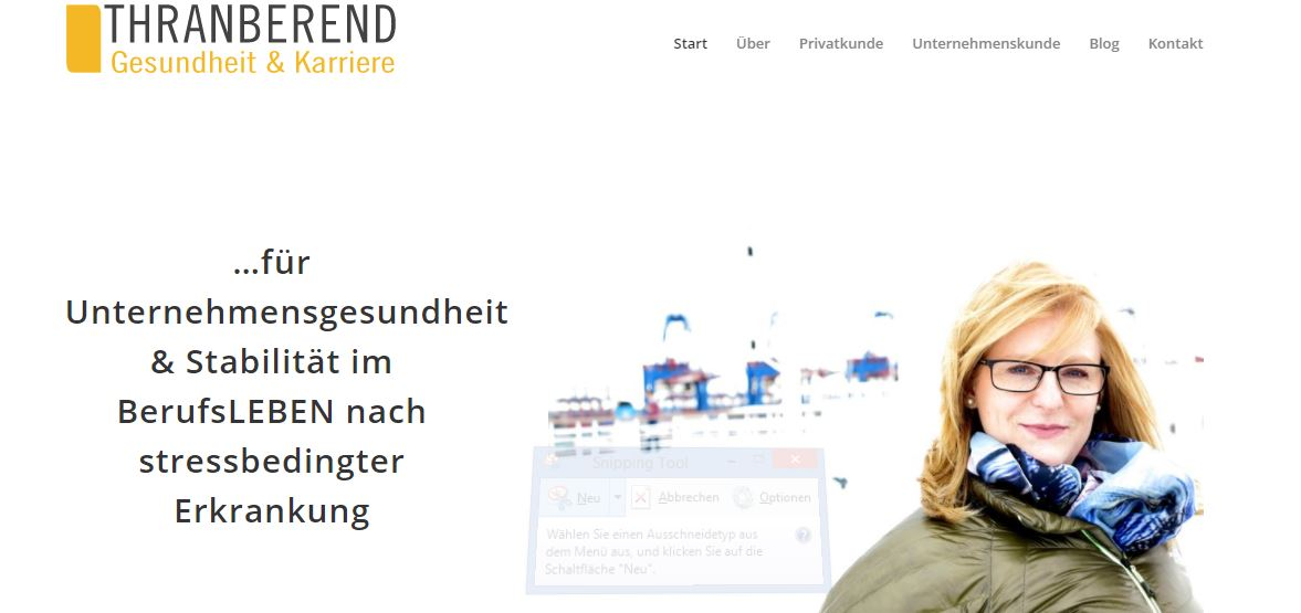Christin Prizelius, Angelique Thranberend