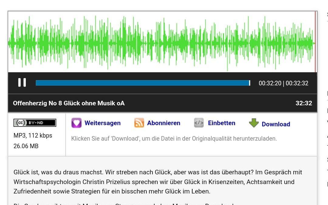 Ich war zu Gast bei dem freien Radiosender 94.0 in Wien